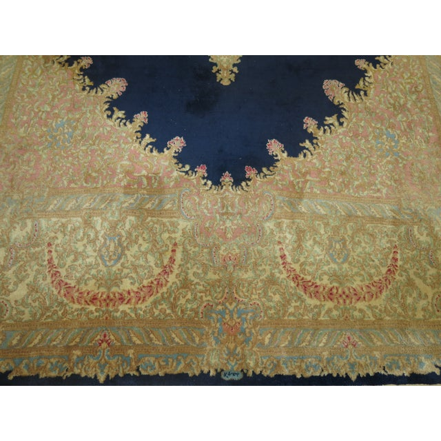 Vintage Persian Kerman Rug - 10'4'' x 13'2'' - Image 8 of 10