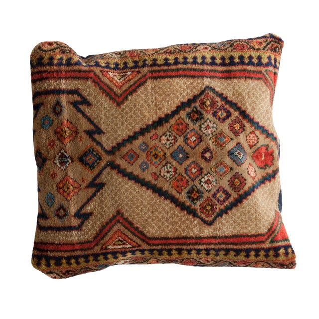 Vintage Floor Pillows : Vintage Camel Hair Serab Floor Pillow Chairish