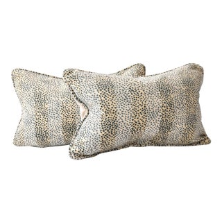 Custom Colefax & Fowler Malabar Pillows - A Pair