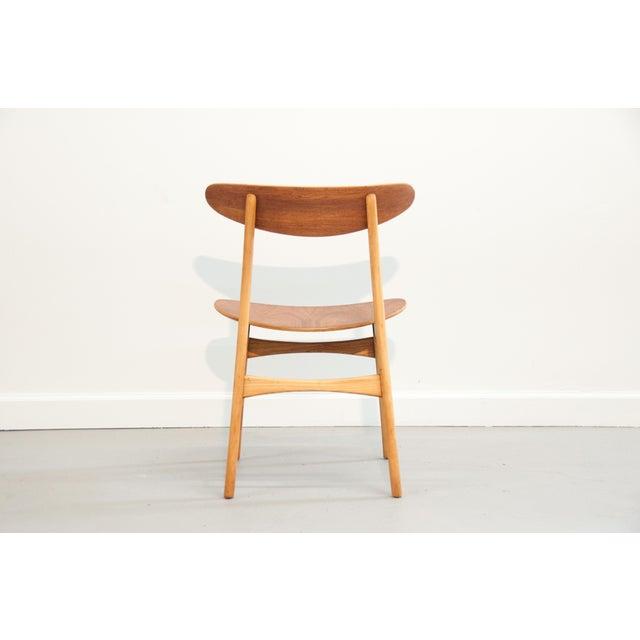 Danish Modern Bentwood Chair - Image 11 of 11
