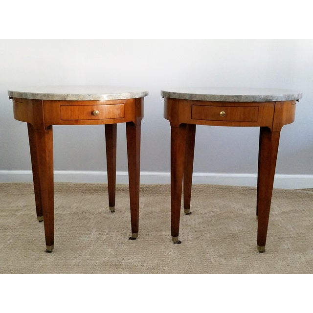 Baker Signature Bouillotte Tables - A Pair - Image 2 of 8