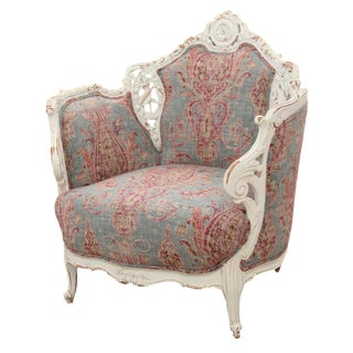 French Rocaille Paisley Bergere