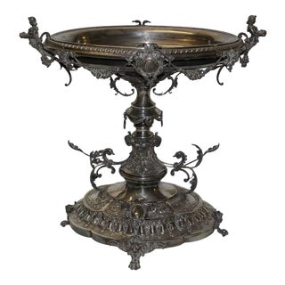 19th Century English Silver Centrepiece