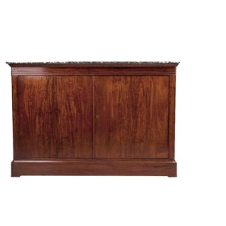 French 19th Century Louis Philippe Mahogany Buffet