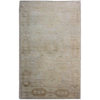 "Aara Rugs Inc. Hand Knotted Oushak Rug - 5'1"" X 3'2"""