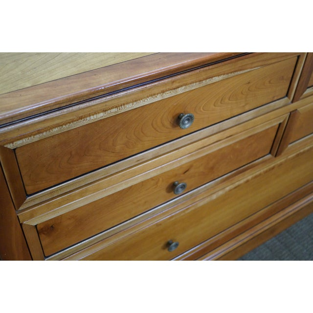 Image of Grange French Made Traditional Cherry Low Dresser
