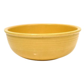 Rare Promotional Fiesta Yellow Salad Bowl