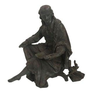 Sculpture - Vintage Classical Male Sculpture