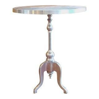 Silver Bistro Table