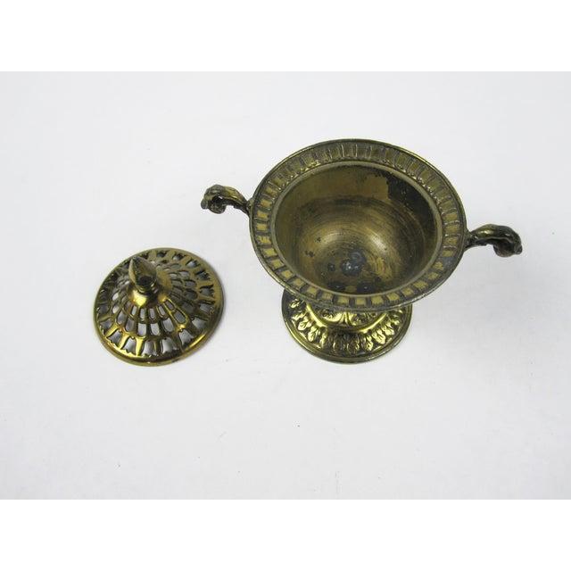 Japanese Brass Incense Burner - Image 3 of 5