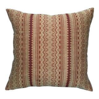 Vintage Hand Woven Thai Silk Pillow