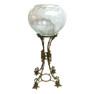 Brass Stand Bowl