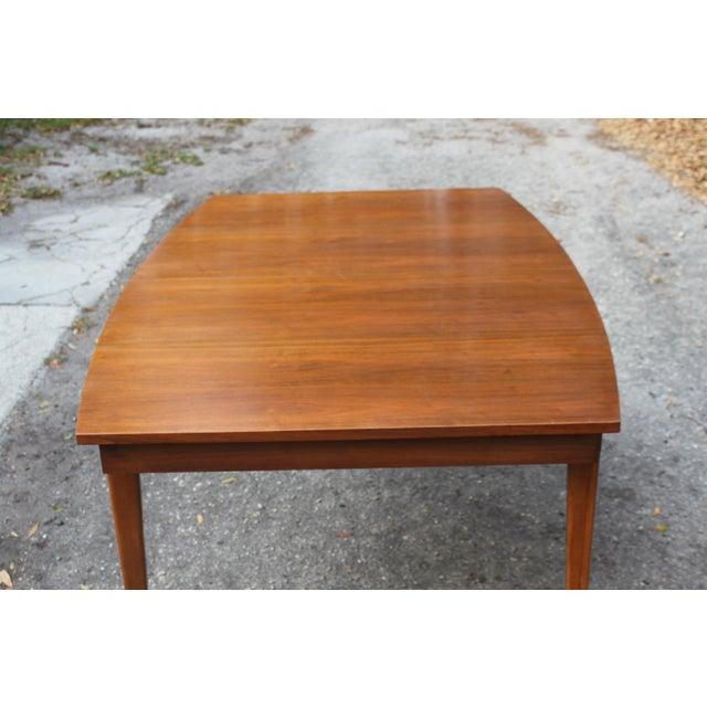 Image of Mid-Century Danish Modern Walnut Surfboard Dining Table