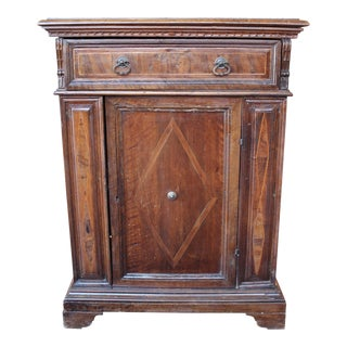 C. 1700 Baroque Walnut Cupboard