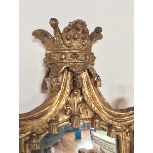 18th Century French Tassel Mirror - Image 4 of 11