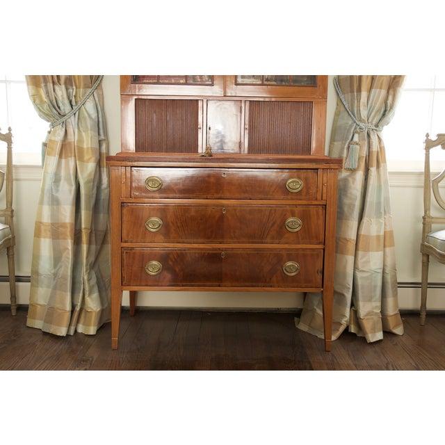 Antique Federal Style Mahogany Secretary Desk - Image 4 of 10