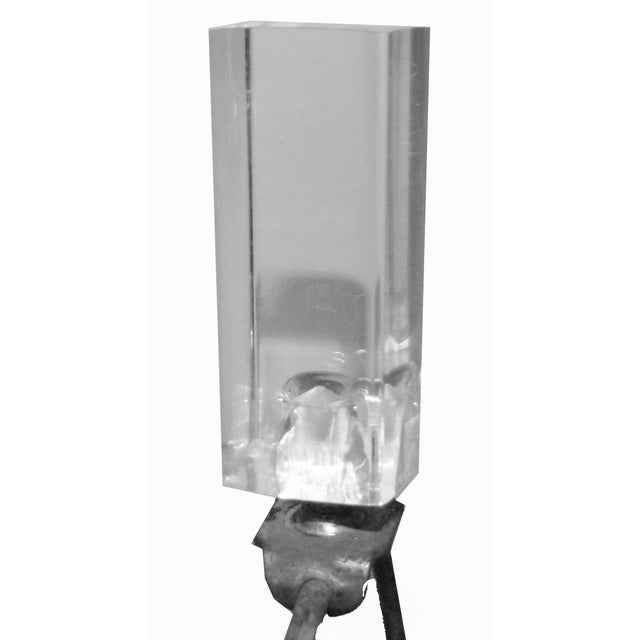 Image of Lucite Table Lamps - A Pair