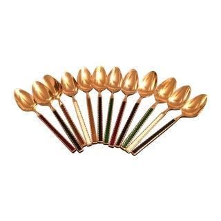 Vintage Demitasse Spoons - Set of 12