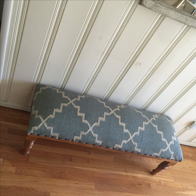 Boho Upholstered Bench Chairish