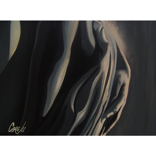 Image of Early Cargill Abstract Nude Painting