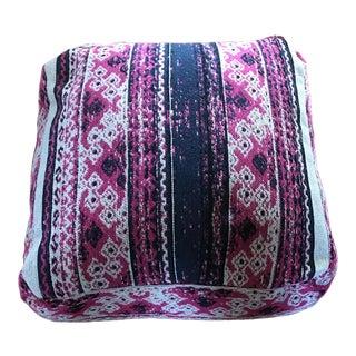 Pink Pouf Floor Pillow