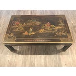 Image of Henredon Asian Chinoiserie Inlaid Coffee Table