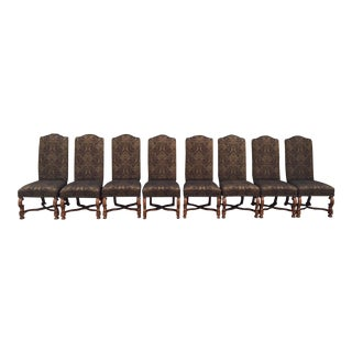 Stanley Upholstered Dining Chairs - Set of 8