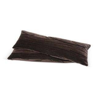 Mohair Lumbar Pillows - A Pair