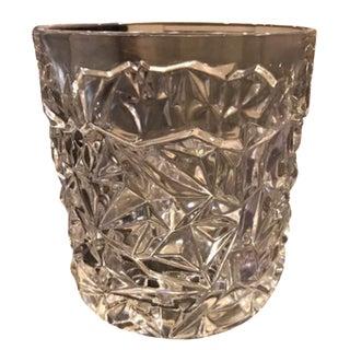Tiffany & Co. Rock Cut Crystal Ice Bucket