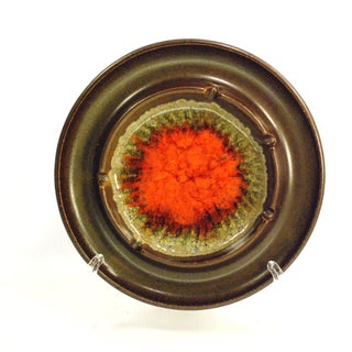 Mid-Century Robert Maxwell Blenko Glaze Ashtray
