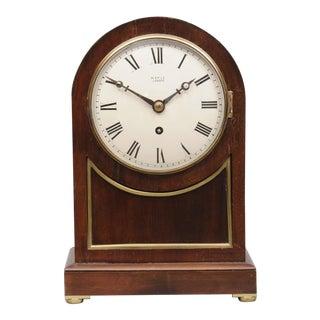 English Antique 8-Day Bracket Clock, Circa 1890