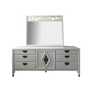 Transitional Century Dresser & Mirror