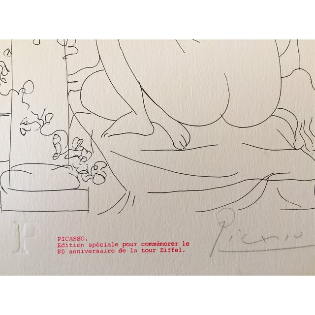Image of Picasso Vintage Signed Edition Lithograph