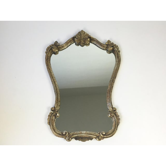 Antique Italian Gilt Wood Mirror - Image 2 of 8
