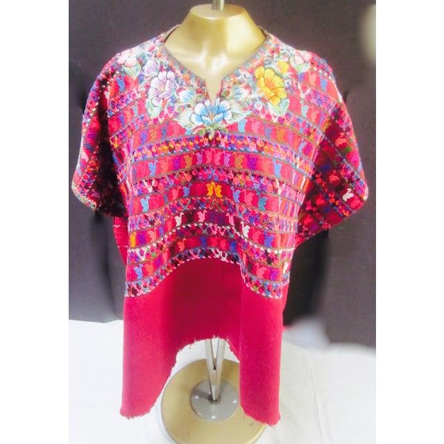 Image of Guatemalan Fabric Boho Beach Textile