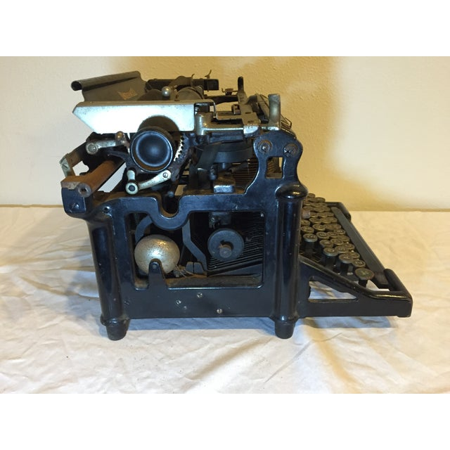 Antique 1908 Black Underwood Typewriter - Image 3 of 11