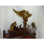 Image of Federal Carved Wood Eagle Gilt Mirror