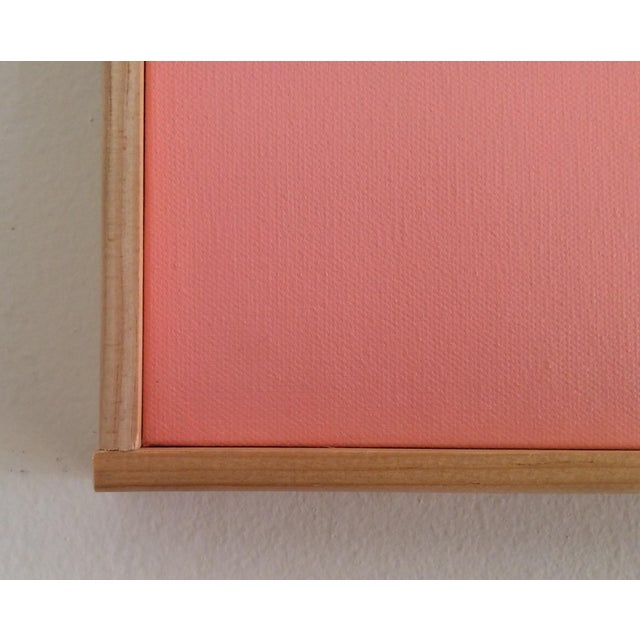 """Pink on Point"" Original Painting - Image 5 of 5"