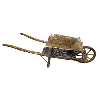 Antique French Child's Wheelbarrow