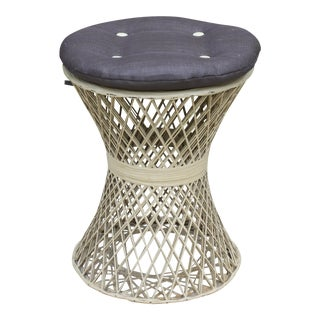 Russell Woodard Spun Fiberglass Side Table / Stool