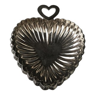Silver Tithing Heart Bowl