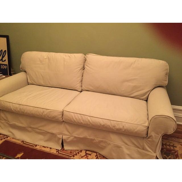 Mitchell Gold Slipcover Sleeper Sofa Chairish