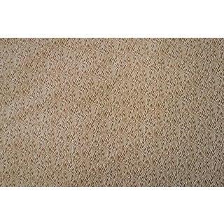 Brunschwig & Fils Vanessa's Folly Brown Cotton Fabric - 3 Yards