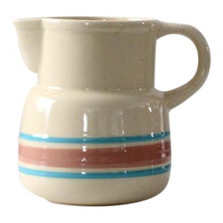 1970s Vintage McCoy Ceramic Pitcher