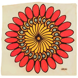 Peter Max Flower Cloth