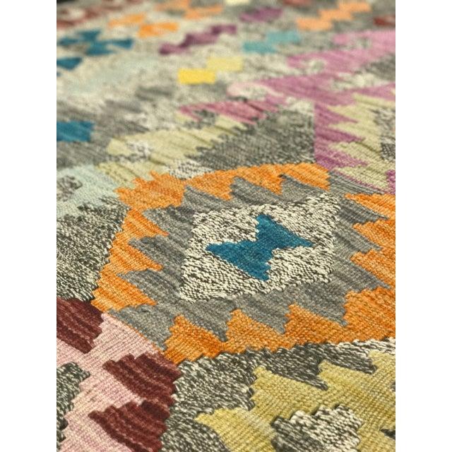 """Bellwether Rugs Wool Kilim Rug - 6'8"""" x 10' - Image 10 of 11"""