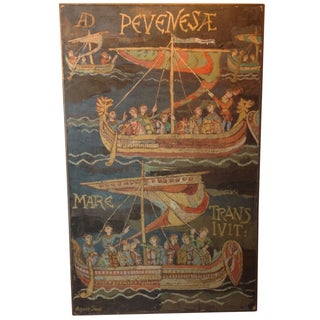 Bayeux Tapestry by Agnes Simms