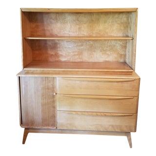 Heywood -Wakefield Mid-Century Display Cabinet