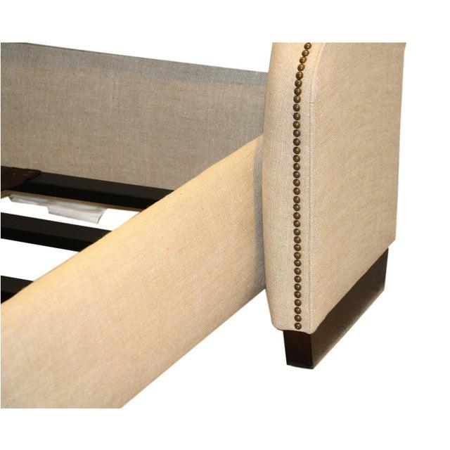 Restoration Hardware Warner Fabric King Bed - Image 6 of 10