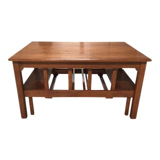 Rose Tarlow Walnut Windsor Coffee Table